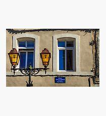 Yellow Blue Photographic Print