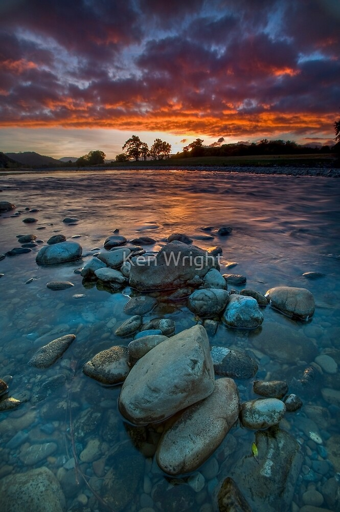 Stone Cold Reds by Ken Wright