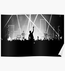 Crowd surfer Poster