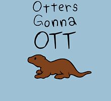 Otters Gonna Ott Womens Fitted T-Shirt