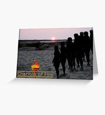 chariots of fire Greeting Card