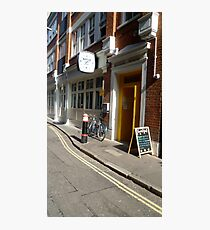 A London road view Photographic Print