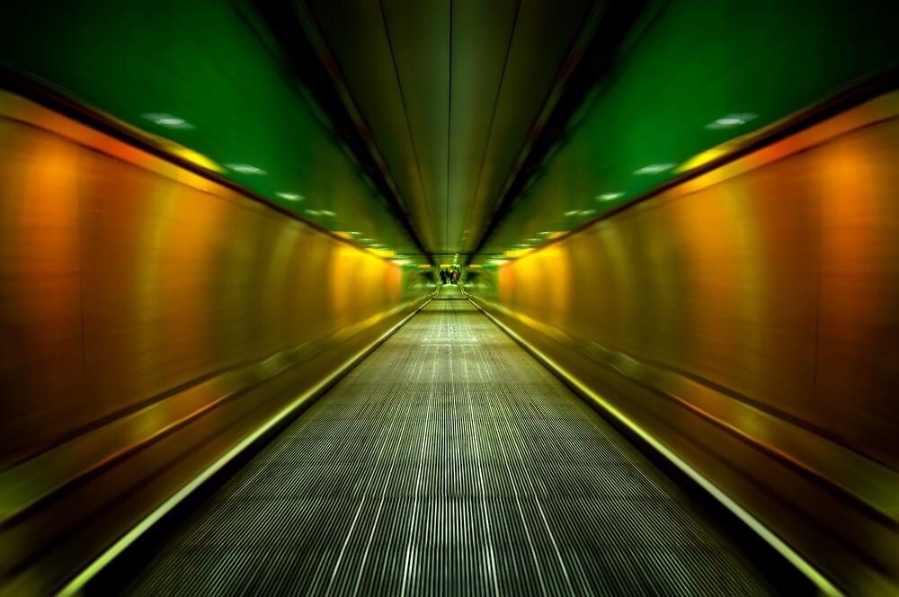 Underground Heathrow by Svetlana Sewell