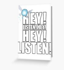 The Legend of Zelda - Navi Greeting Card