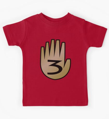 3 Hand Book From Gravity Falls Kids Clothes