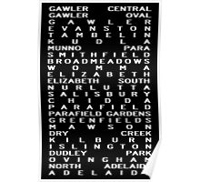 Gawler Rail Line Poster