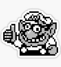 Wario Approval Sticker