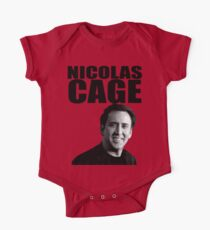 Nicolas Cage One Piece - Short Sleeve