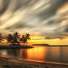 Sunset Bar - Kota Kinabalu by Dean Mullin