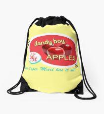 Dandy Boy Apples Drawstring Bag