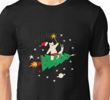 Space Christmas Unisex T-Shirt