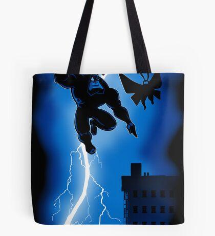The Blue Mite Returns Tote Bag