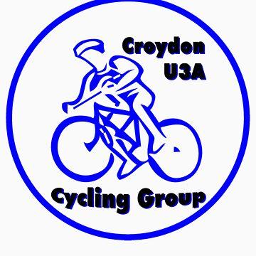 Croydon U3A Cycling Group T-shirt design by PaulK