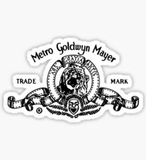 Metro Goldwyn Mayer Sticker
