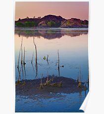 Sunset Stick Up Poster
