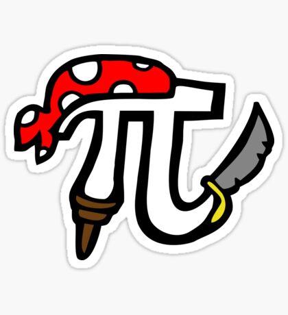 Pi Pirate Sticker