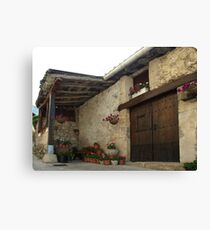 Spanish Rural House Canvas Print
