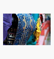Colourful kimonos Photographic Print