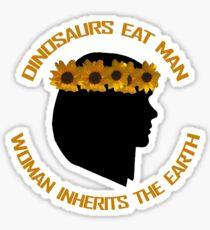 Dinosaurs Eat Man Sticker