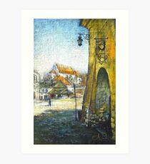 Kazimierz Dolny Art Print