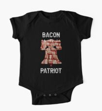 Bacon Patriot - American Liberty Bell - United States of America One Piece - Short Sleeve