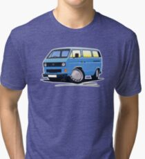 VW T25 / T3 Blue Tri-blend T-Shirt