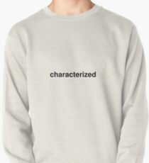 characterized Pullover