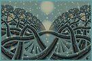 Celtic Winter Forest by inkedsandra