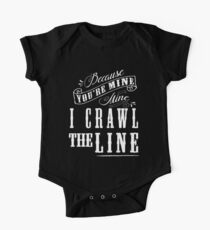I Crawl The Line, Baby Onesie One Piece - Short Sleeve