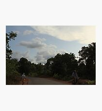 Rural countryside Photographic Print