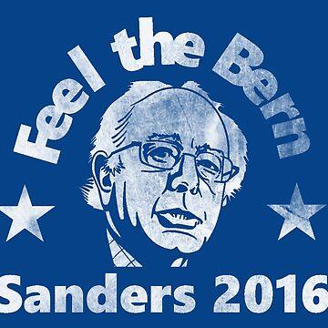 Feel The Bern - Sanders 2016 by TumblrVerse
