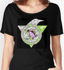 PENGUINS BLACK Women's Relaxed Fit T-Shirt
