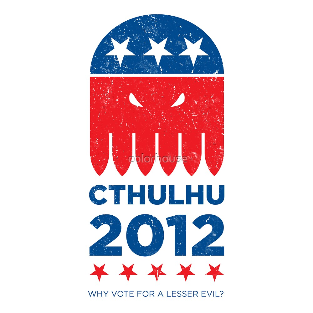 Vintage CTHULHU 2012 by colorhouse
