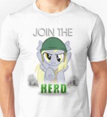 Derpy Hooves- Join the Herd Unisex T-Shirt