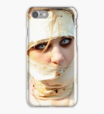 Zombie Mummy with Piercing Eyes iPhone Case/Skin