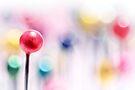 A pincushion in a very colorful mood... by Bob Daalder