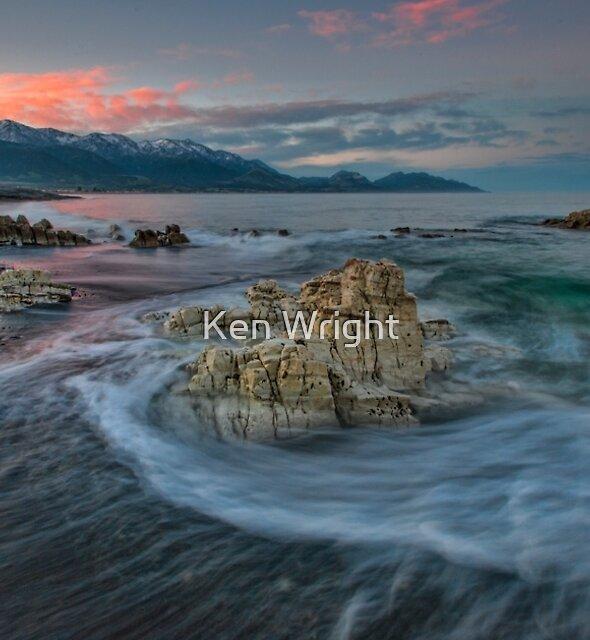 Kaikoura Limestone Blush by Ken Wright