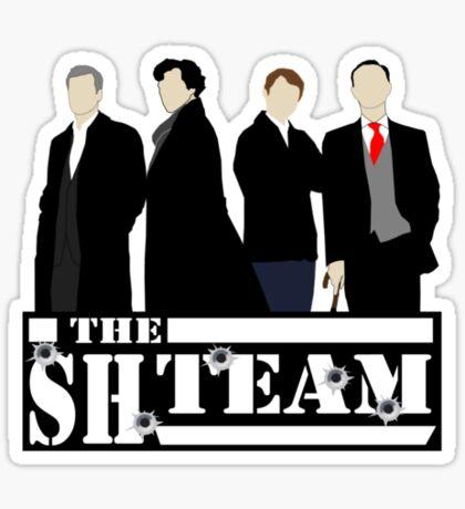 Sherlock Holmes - A Team Parody Sticker