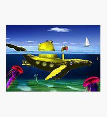 Yellow submarine Photographic Print