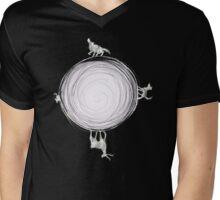 Inverted Marauders Moon Mens V-Neck T-Shirt