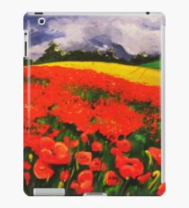 Poppies before the Storm iPad Case/Skin