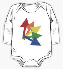 Rainbow arrows One Piece - Long Sleeve