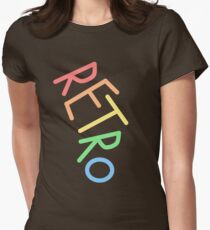Retro! Women's Fitted T-Shirt