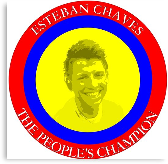 ESTEBAN CHAVES THE PEOPLE'S CHAMPION by Upbeat