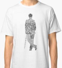 Mycroft Holmes Typography Art Classic T-Shirt