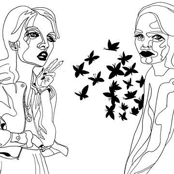 Speaking of Butterflies by Art-trainer