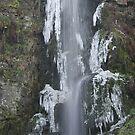 Melincwrt Falls – winter by Jane Corey