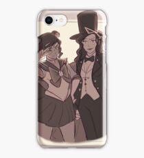Sailor Korra & Tuxedo Sato iPhone Case/Skin