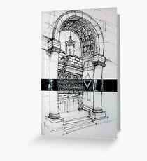 Parallel Perspective Greeting Card