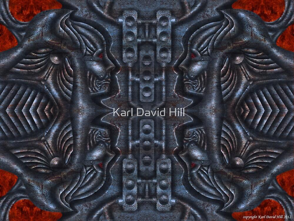 The Infernal Machine (2 0f 4) by Karl David Hill